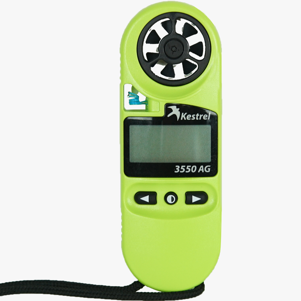 3550AG Spraying Weather Meter Image