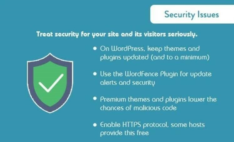 security issues infographic