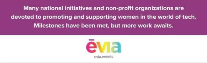 national initiatives and non-profits supporting women in the tech industry
